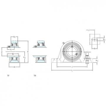 SKF SYJ 100 TF bearing units